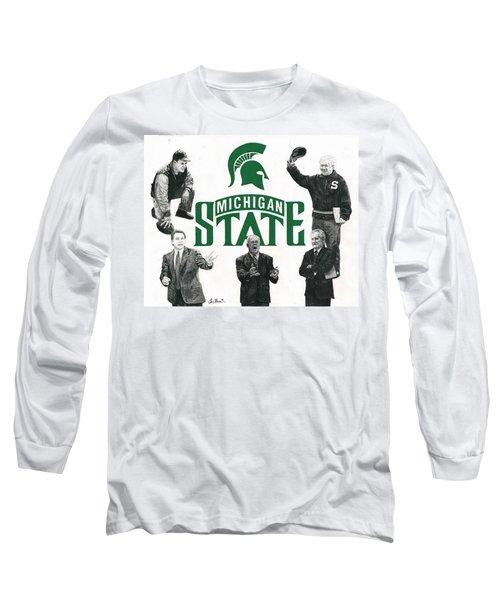 Michigan State Coaching Legends Long Sleeve T-Shirt