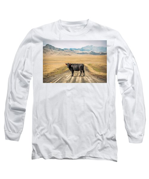 Middle Of The Road Long Sleeve T-Shirt