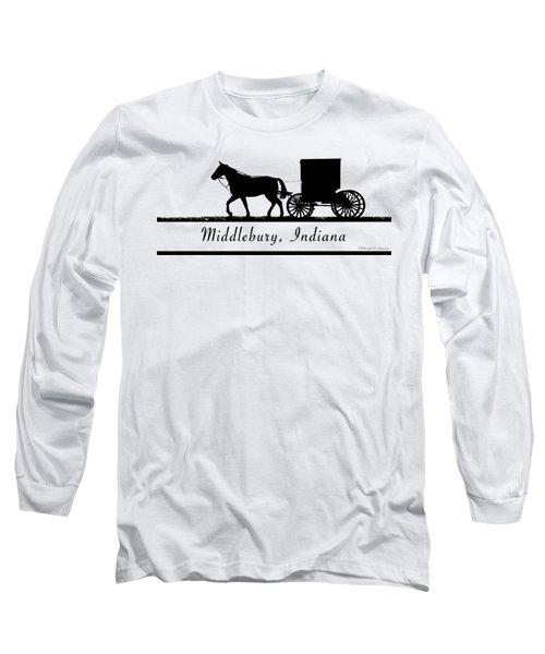 Middlebury Indiana T-shirt Design Long Sleeve T-Shirt