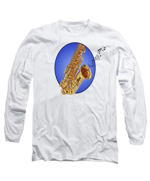 Midnight Blues Long Sleeve T-Shirt