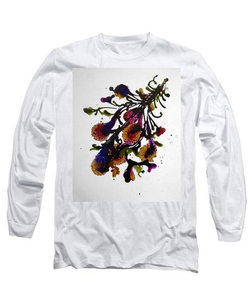 Midnight Magic-2 Long Sleeve T-Shirt by Alika Kumar