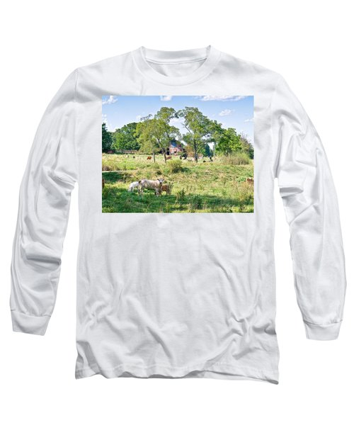 Midwest Cattle Ranch Long Sleeve T-Shirt