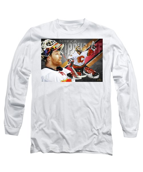 Miikka Kiprusoff Long Sleeve T-Shirt