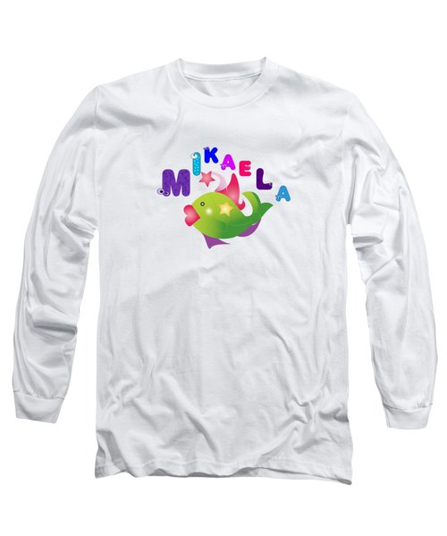 Mikaela Tshirt Size 4 Long Sleeve T-Shirt