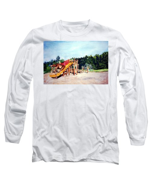 Mildred Goes Down The Slide Long Sleeve T-Shirt
