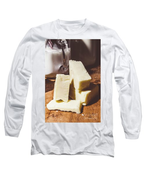 Milk And Cheese Long Sleeve T-Shirt