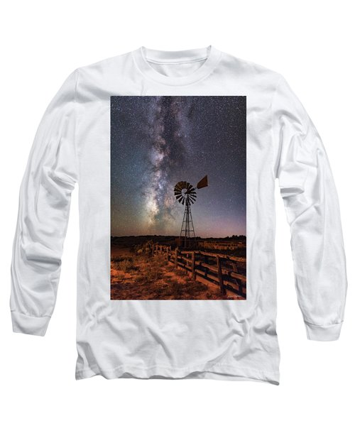 Milky Way At Dubinky Well Long Sleeve T-Shirt