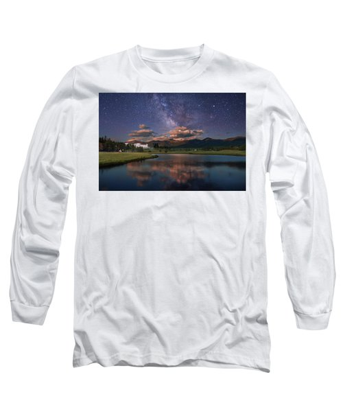 Milky Way Over The Omni Mount Washington Long Sleeve T-Shirt