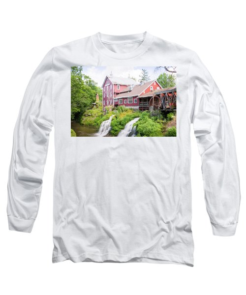 Mill Water Falls Hdr Long Sleeve T-Shirt