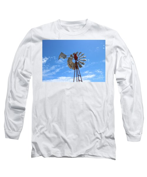 Long Sleeve T-Shirt featuring the photograph Milled Wind by Stephen Mitchell