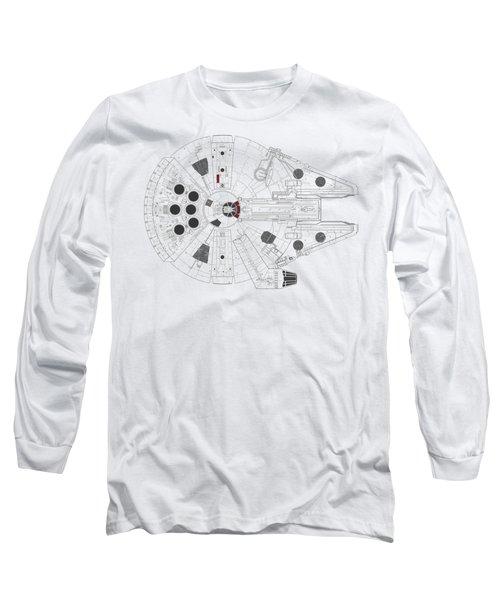 Millennium Falcon I Long Sleeve T-Shirt