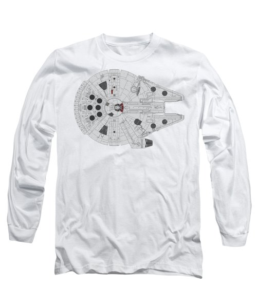 Millennium Falcon II Long Sleeve T-Shirt