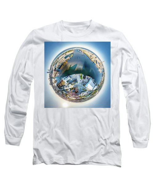 Long Sleeve T-Shirt featuring the photograph Milwaukee And Kk Rivers by Randy Scherkenbach