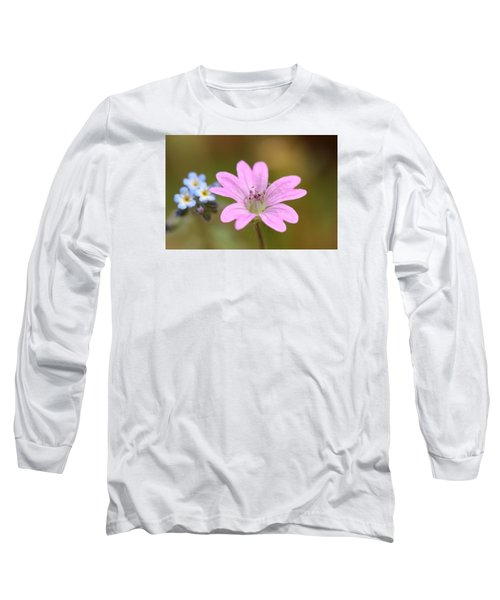 Long Sleeve T-Shirt featuring the photograph Minature World by Richard Patmore