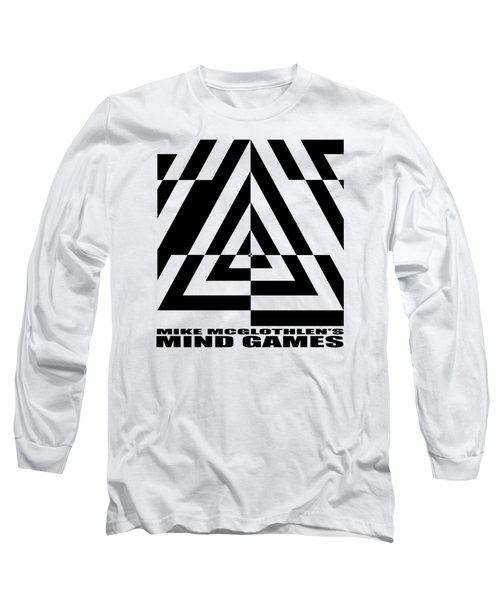 Mind Games  21se Long Sleeve T-Shirt by Mike McGlothlen