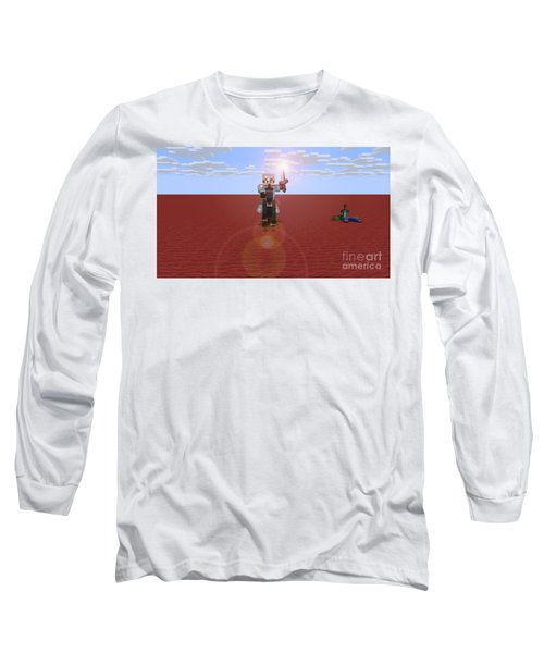 Minecraft Knight Long Sleeve T-Shirt