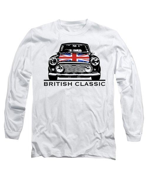Mini British Classic Long Sleeve T-Shirt by Thomas M Pikolin