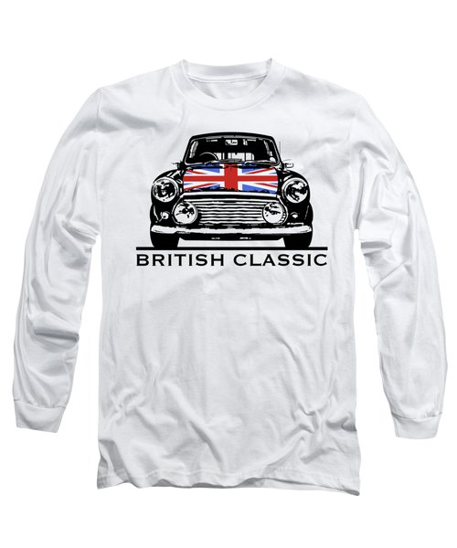 Mini British Classic Long Sleeve T-Shirt