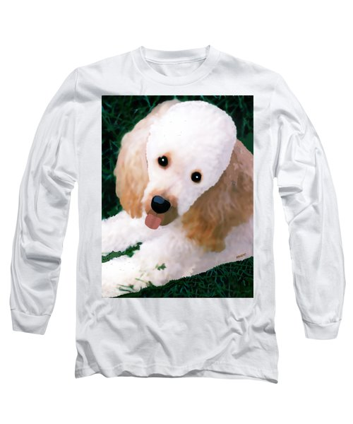 Miniature Poodle Albie Long Sleeve T-Shirt