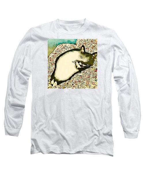 Long Sleeve T-Shirt featuring the photograph Minnie Siesta - Fashionable by Ronda Broatch