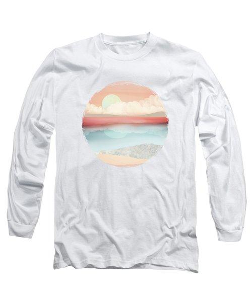 Mint Moon Beach Long Sleeve T-Shirt