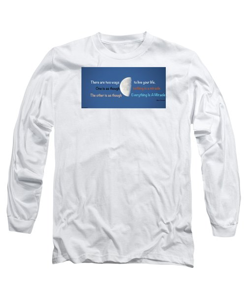 Long Sleeve T-Shirt featuring the photograph Miracles by David Norman