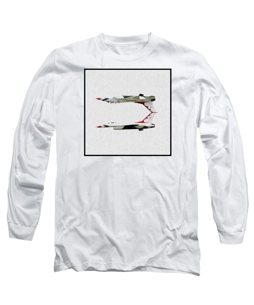 Mirrored Image Long Sleeve T-Shirt