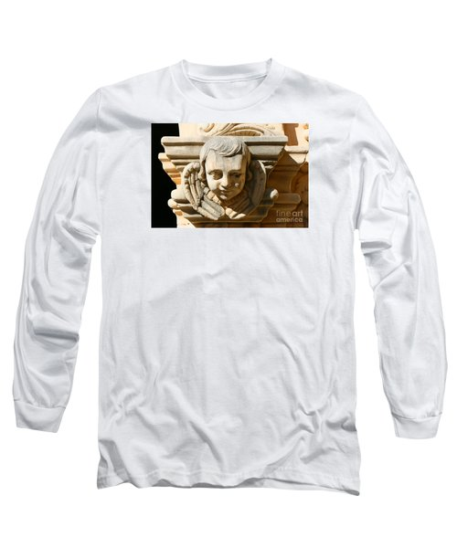 Long Sleeve T-Shirt featuring the photograph Mission San Jose Angel by Jeanette French