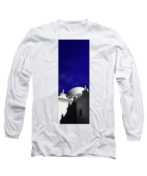 Mission San Xavier Del Bac Long Sleeve T-Shirt by Gary Warnimont