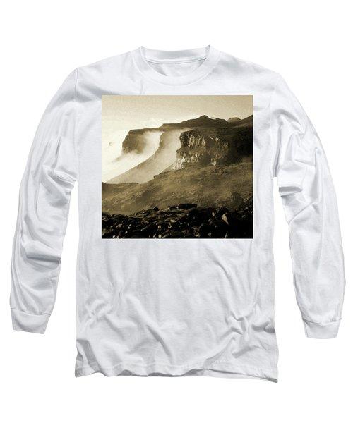 Mist In Lesotho Long Sleeve T-Shirt