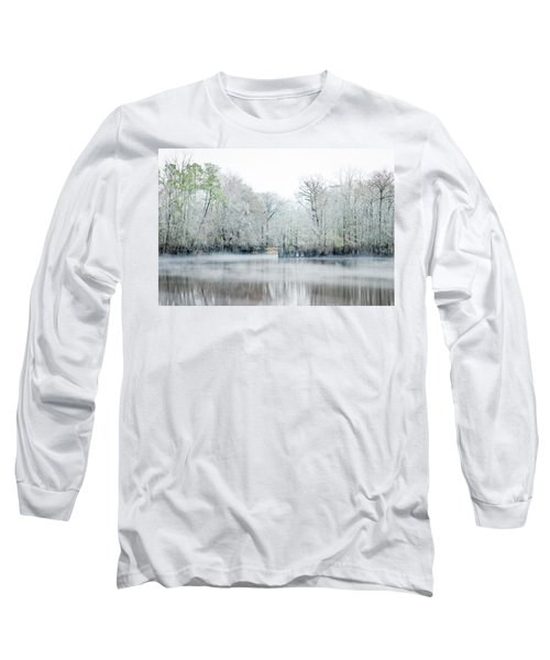 Mist On The River Long Sleeve T-Shirt