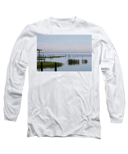 Misty Lake Long Sleeve T-Shirt