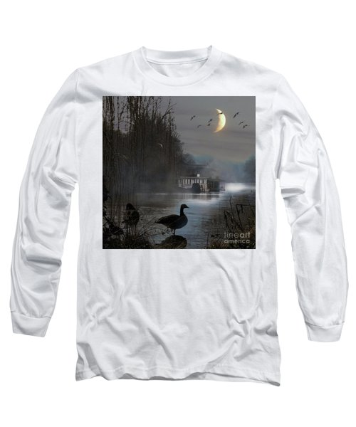 Misty Moonlight Long Sleeve T-Shirt