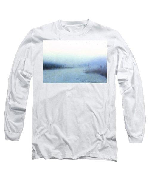Misty Morning Long Sleeve T-Shirt by Catherine Alfidi