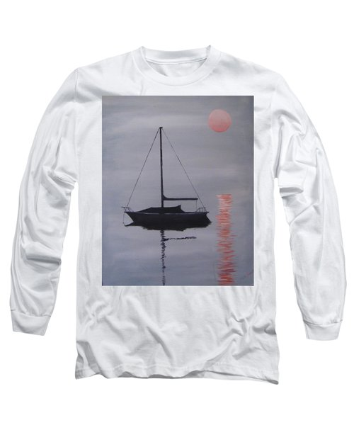 Misty Morning Mooring Long Sleeve T-Shirt