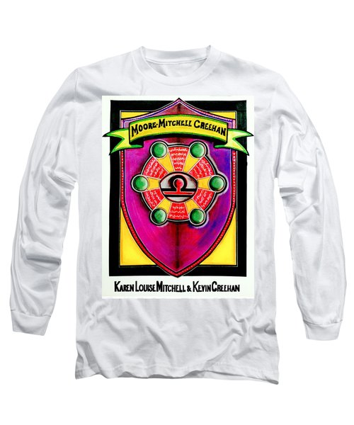 Mitchell-creehan Ancestral Healing Family Crest Long Sleeve T-Shirt by Ahonu