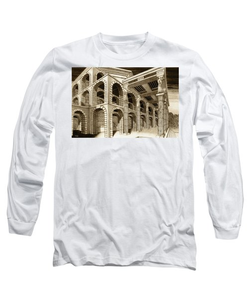 Mithlond Gray Havens Long Sleeve T-Shirt by Curtiss Shaffer