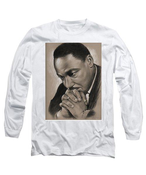 MLK Long Sleeve T-Shirt by Greg Joens