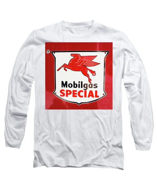 Mobilgas Vintage 82716 Long Sleeve T-Shirt