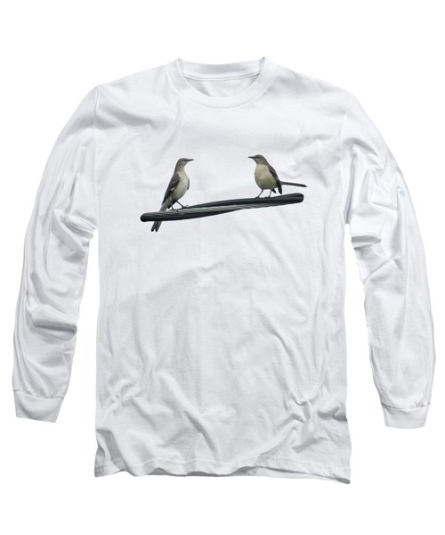 Mockingbirds On The Wire Long Sleeve T-Shirt