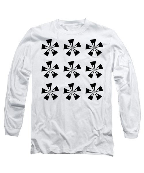 Mod Flowers Group Transparent Long Sleeve T-Shirt
