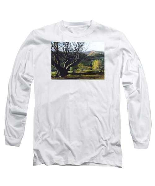 Moel Famau From Loggerheads Long Sleeve T-Shirt