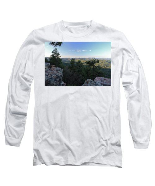 Mogollon Morning Long Sleeve T-Shirt by Gary Kaylor