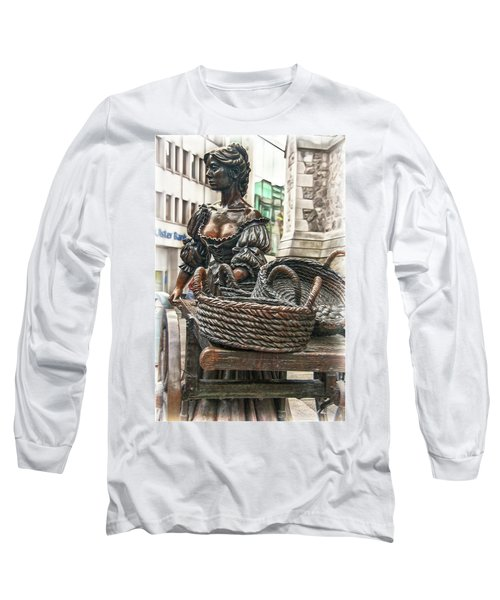 Long Sleeve T-Shirt featuring the photograph Molly Malone by Hanny Heim