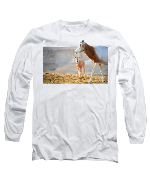 Mom's Supervision Long Sleeve T-Shirt by Arik Baltinester