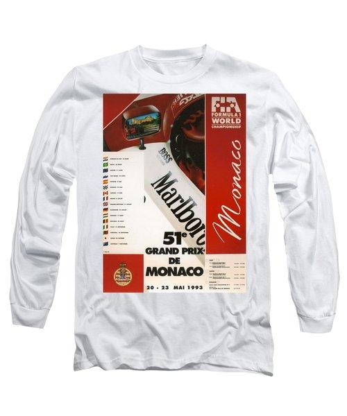 Monaco F1 1993 Long Sleeve T-Shirt