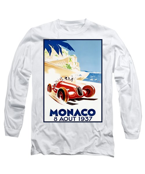 Monaco Grand Prix 1937 Long Sleeve T-Shirt