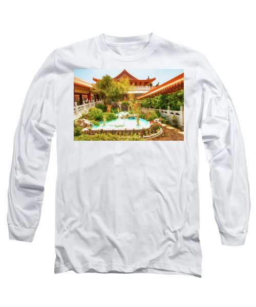 Long Sleeve T-Shirt featuring the photograph Monastery by Joseph Hollingsworth