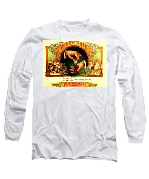 Money Cigar Label Long Sleeve T-Shirt