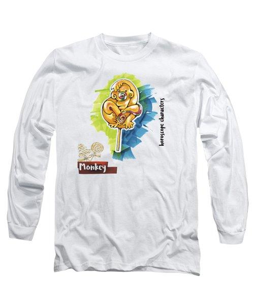 Monkey Horoscope Long Sleeve T-Shirt